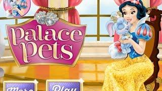 NEW Игры для детей—Disney Принцесса Белоснежка питомцы—Мультик Онлайн видео игры для девочек