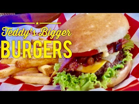 Best Burgers Manila: Teddy's Bigger Burgers Greenbelt 3 Ayala Center Makati