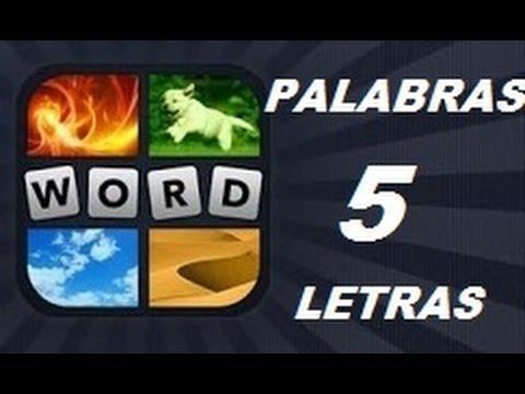 Soluciones de 5 Letras - Niveles 1 a 961 - 4 Fotos 1 Palabra. Ver descripción! Android, iPhone, iOS