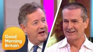 Rupert Everett and Piers Make Up After Their Feud | Good Morning Britain