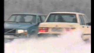 Volvo Snowrace Commercial + Initial D Blazin Beat