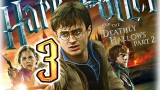 Harry Potter and the Deathly Hallows Part 2 Walkthrough Part 3 (PS3, X360, Wii, PC) Boss: Snape