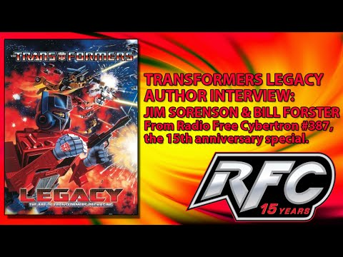 Transformers Legacy Author Interview