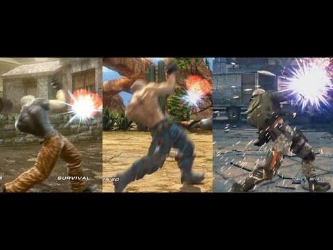 Tekken 7 Bryan Fury Taunt Jet Upper Compilation