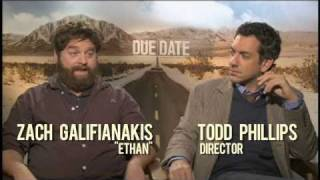 Interview with Zach Galifianakis and Todd Phillips of DUE DATE