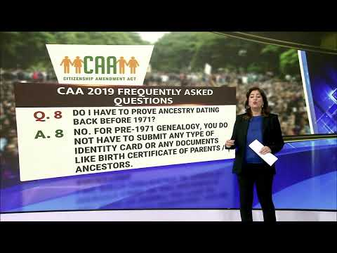 Citizenship Amendment Act - Myths Busted from YouTube · Duration:  7 minutes 54 seconds