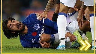 Очень страшная травма Андре Гомеша | terrible injury to Andre Gomes
