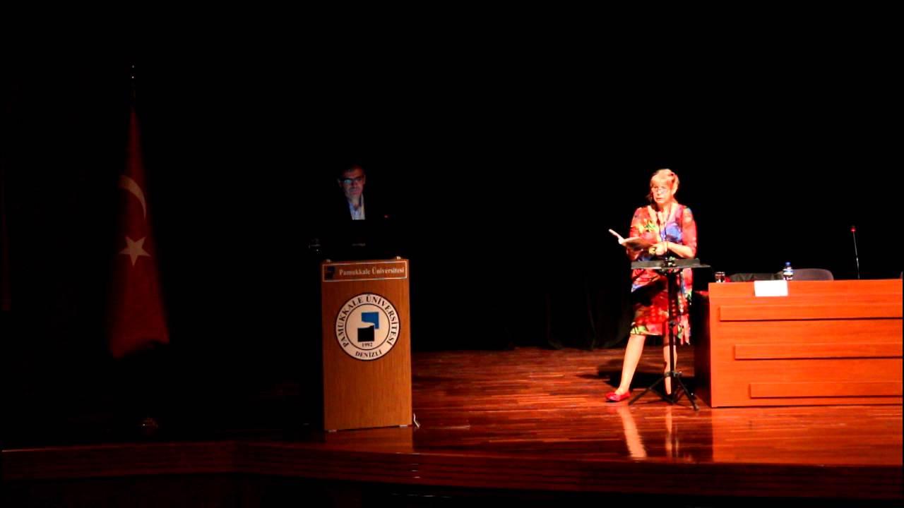 Dr. Robyn Rowland & Dr. Mehmet Ali Çelikel Poetry Reading ...Dr Robyn Rowland