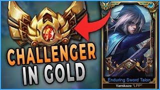 I Take My Talon Jungle to Gold 4! | Challenger Talon Carry in Gold/Plat
