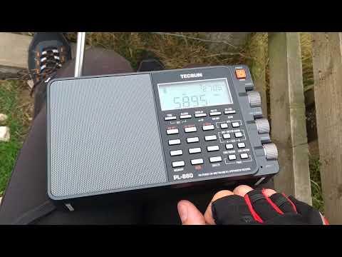 Frequency of 5895 kHz - Radio Northern Star (Bergen)