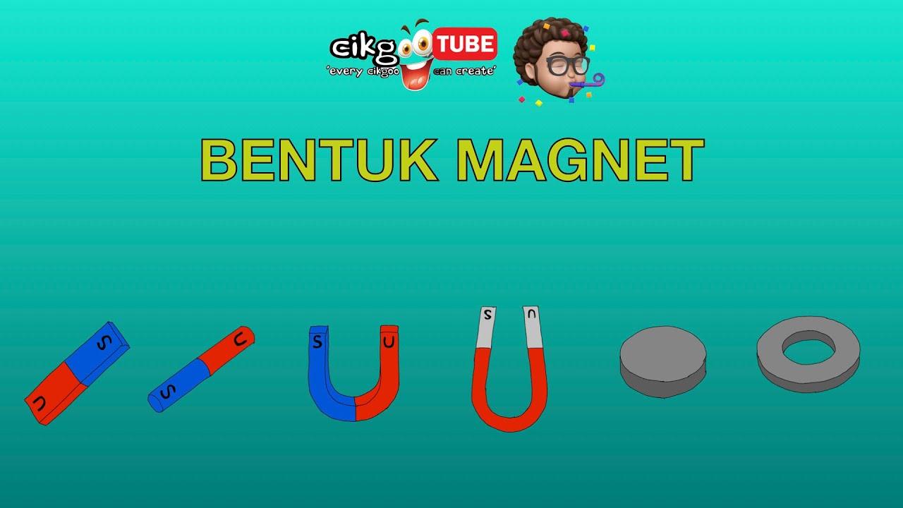 Sains Tahun 1 Bentuk Magnet Cikgootube Cikguzoul Youtube