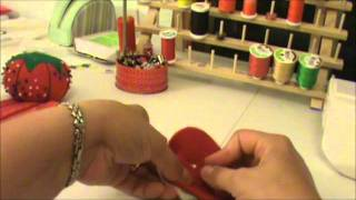 How to Make Infant/Toddler Slippers.wmv