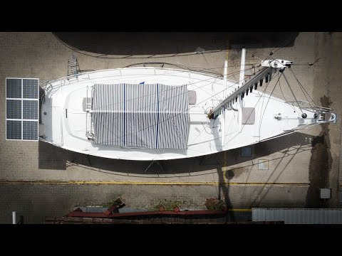⛵️Getting our SAILBOAT ready to live Off GRID#175