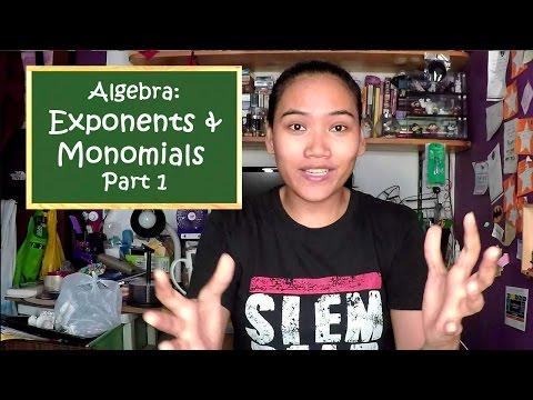 Algebra: Exponents and Monomials Part 1 - Civil Service Exam Review