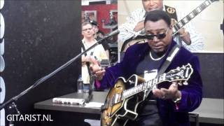 George Benson on his new Ibanez LGB300-VYS