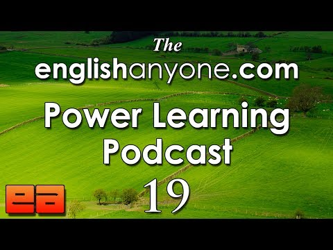 The Power Learning Podcast - 19 - Your English Fluency Questions Answered Part 1