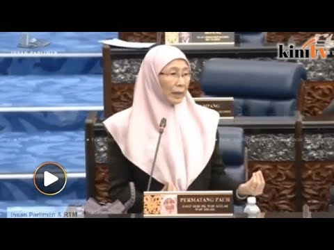 Wan Azizah delivers message from Anwar in her closing speech at Parliament