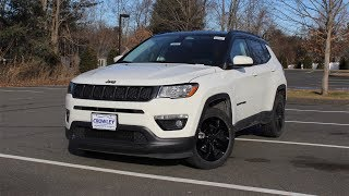 2019 Jeep Compass Altitude: In Depth First Person Look