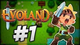 Let's Play Evoland #1 - A travers l'histoire du jeux vidéos à ses tout début !
