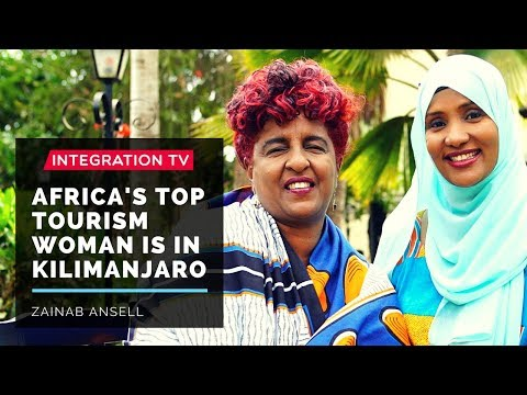 Africa's Top Tourism Woman is in Kilimanjaro