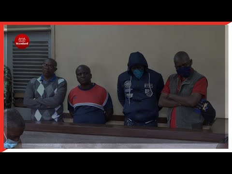 Kirinyaga court sentences four men to death charged with robbery with violence, incident left 2 dead