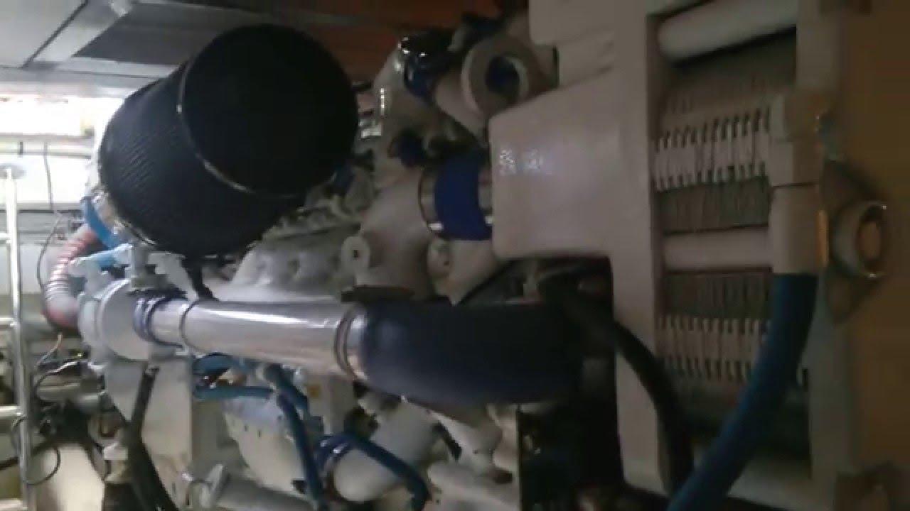 MTU DDC Series 60 DDEC III Marine 825HP@2350Rpm