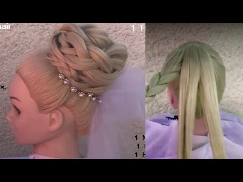 Beautiful hairstyles for ladies || new wedding hairstyle || hair style girl - Amal Hermuz thumbnail