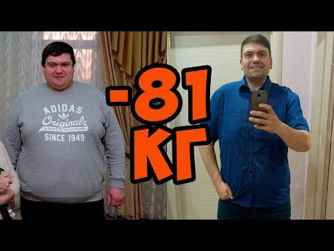 как похудеть на 80 кг мужчине  История Алекса