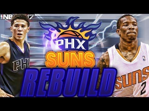 NBA 2K17 MY LEAGUE: REBUILDING THE PHX SUNS!! BEST TEAM EVER MADE!?!?