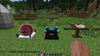 Обзор мода Вампиризм для Minecraft 1 7 10 Часть 1