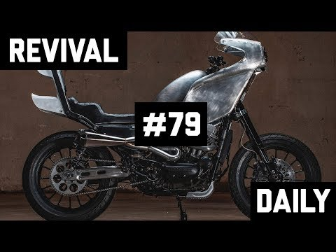 Over-the-top Custom Harley Bosozoku with a serious side of  #KURYSAUCE! // Revival Daily 79