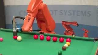 ABB Robot Playing Snooker thumbnail