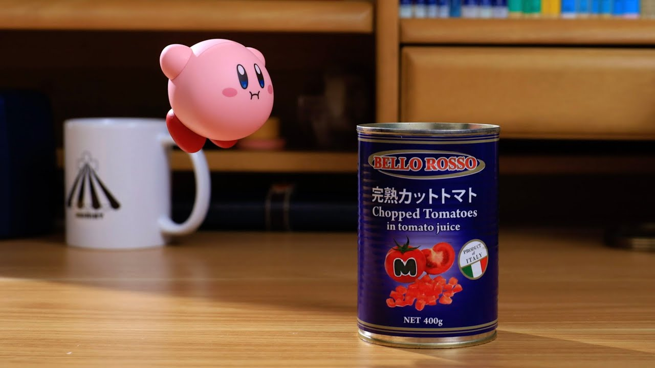 Reproduced the Power of Kirby's Stone in Live-Action|Stop Motion