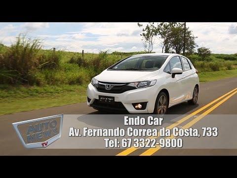 Novo Honda Fit 2015 - teste