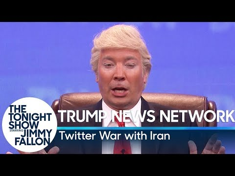 Trump News Network: Twitter War with Iran