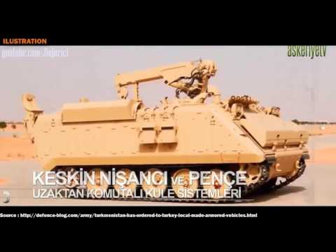 Middle East Military Power, Turkmenistan has ordered to Turkey local made armored vehicles