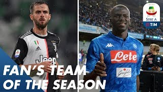 Who did you Choose? | Fans Team of the Season | Serie A