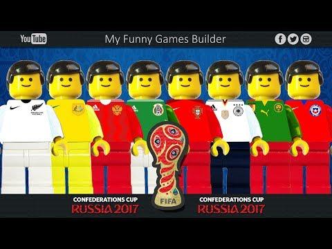FIFA Confederations Cup Russia 2017 • Teams Preview • Lego Football Film