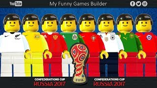 Confederations Cup Russia 2017 • Teams Preview • Lego Football Film