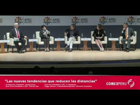 CEO SUMMIT APEC 2016 | LAS NUEVAS TENDENCIAS QUE REDUCEN LAS DISTANCIAS (Conversatorio)