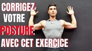 corrigez votre posture avec cet exercice feat matthias nezzar