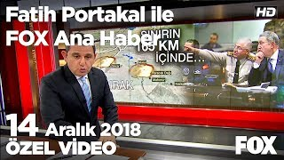Terör örgütü Pkk'ya Irak'ta bomba yağdı! 14 Aralık 2018 Fatih Portakal ile FOX Ana Haber