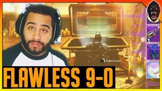 Destiny Trials of Osiris 9-0 Flawless Run. Trials on Burning Shrine w/ Flawless loot
