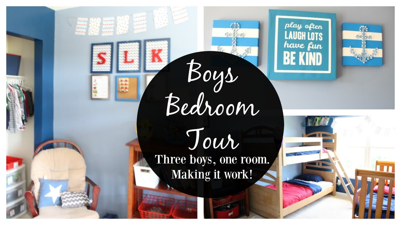 boys room tour