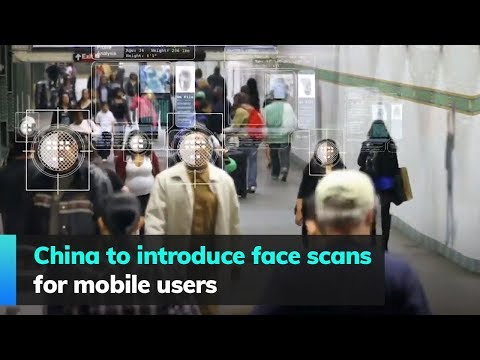 China to introduce face scans for mobile users