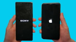 sony Xperia 1 vs iPhone XS Max