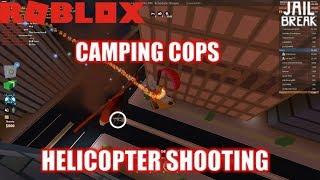 Roblox: JailBreak: HELICOPTER SHOOTING MADNESS