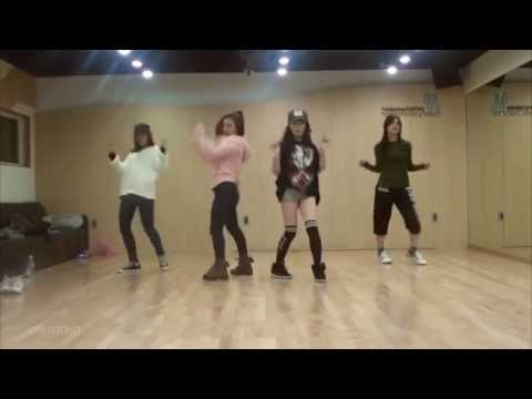 miss A - I Don't Need A Man mirrored Dance Practice