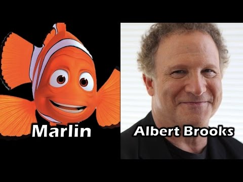 Characters And Voice Actors - Finding Nemo