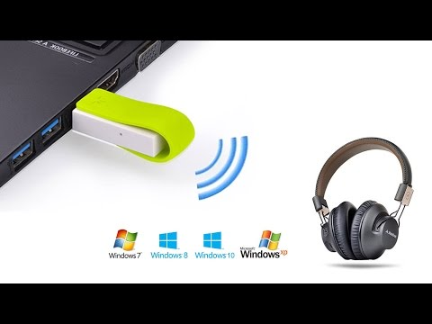 Avantree How to use Leaf Bluetooth adapter for PC, DRIVER FREE, low latency for gaming, movie, etc?